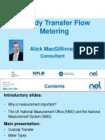 Custody Transfer Metering
