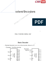 Decoders Encoders