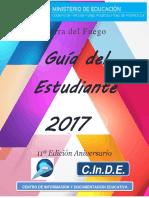 Guia Del Estudiante 2017 - Tierra del Fuego (Argentina)