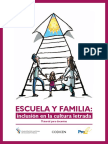 Escuela y Familia-Inclusion en La Cultura Letrada