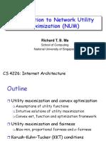 Network Utility Maximization