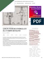 Los Puntos de Energia en El Cuerpo Humano _ Evolución Consciente
