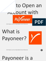 Benjie_Luna_How to Open an Account With Payoneer Tutorial