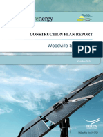 Solar Farm Construction Report