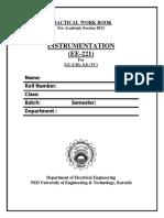 Ee-221 Instrumentation 2013 Cs,Tc
