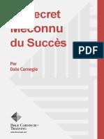 Secret_succes Dale Carnegie