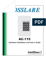 AC-115 Hardware Instruction Manual 10-02