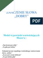 Etyka - Dobry