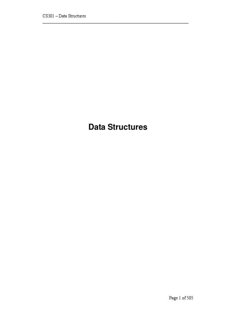 CS301_handouts_1_45.pdf   Tableau (structure de données)   Pointeur (programmation)