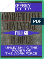 Pfeffer 1995 Competitive Advantage Through People