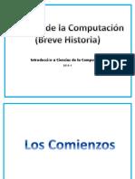 b) Historia de Ciencias de La Computación