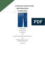 Fall River Wind Turbine Feasibility Study 2008