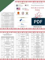 Program Martisor 2017