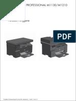 Mengatasi Printer Laserjet M1132 MFP