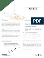 Credit Monitoring Brochure