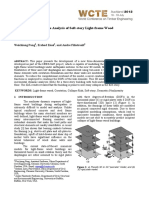 !! a 3D Model for Collapse Analysis of Soft-story Light-frame Wood Buildings