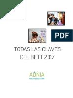 Las mejores experiencias, herramientas y apps del Bett 2017 (Aonia Nueva Educación)