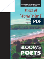 Harold Bloom-Poets of World War I_ Rupert Brooke and Siegfried Sassoon (Bloom's Major Poets) (Part 2)-Chelsea House Publications (2003)