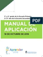 Manual de Aplicación - 3° y 6° Primaria, 2°3° Secundaria (1)