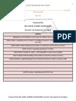 Office Procedure (Edited)