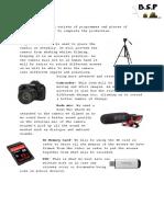 Equipment List Draft