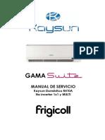 Kaysun -- Fricoll Kam_hn3 Manual Tecnico