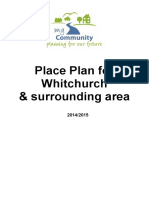 Whitchurch Place Plan 2014 2015