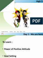 1 - 5 Personality Development Training