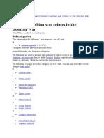 Bosnan Genocide Eng
