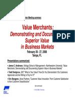 Value Merchants Feb08