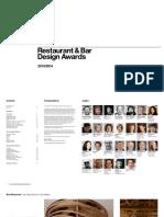 Bar and Restaurant Design Awards