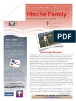 Fritsche Family Mission Newsletter - January/February 2017
