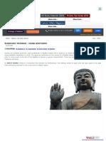 Buddist Mudras
