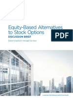 Equity-based Alternatives to Stock Options