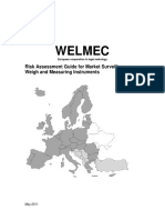 WELMEC 05.03 Risk Assessment Guide Issue1