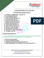 Major Eie Projects List2