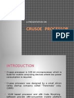 Crusoe Processor 2003