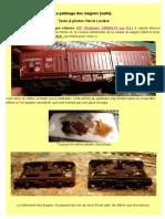 Modélisme ferroviaire à l'échelle HO. Comment bien patiner un wagon.(2) Le wagon Shimms. Par Hervé Leclère