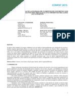 Avaliação Da Penetração Acelerada de Cloretos Em Concretos Com Aditivo Impermeabilizante Por Cristalização e Diferentes Relações Água Cimento