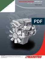 a926 584 06 81 ba om904 926la en gb 06 11 diesel engine fuel rh scribd com mercedes om 904 la parts manual Manual Black Mercedes -Benz