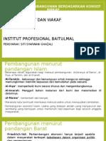 Bab5-Agenda Pembangunan Berdasarkan Konsep Wakaf