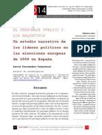 Icono14. A8/V2. El personaje público y los arquetipos. Un estudio narrativo de los líderes políticos en las elecciones europeas de 2009 en España