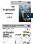 Current and Future Brazilian Heavy Lift Offshore and Subsea Installation Markets