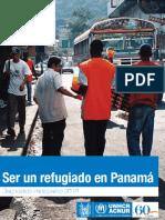 Ser Un Refugiado en Panama - Diagnostico Participativo 2010