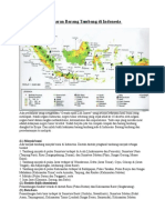 Persebaran Barang Tambang Di Indonesia