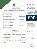 Processo Avetrana - Sentenza Di Condanna Di Appello Per Cosima Serrano e Sabrina Misseri (Delitto Sarah Scazzi)