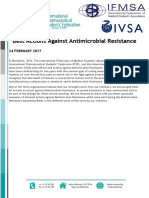 Joint Efforts and Actions Against Antimicrobial Resistance
