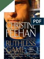 Christine Feehan - Caminhantes Fantasmas 9 - Ruthless Game