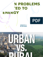 Urban Problems Related To Energy