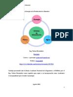 Energia y Produccion de Alimentos (Energy and Food Production)